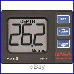 NASA Marine Target 2 échosondeur mesure alerte profondeur pour bateau Neuf