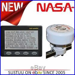 Nasa Marine Easy Navtex avec H Vector Antenne & 7m Câble pour Bateaux/Marine