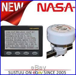 Nasa Marine Simple Navtex avec H Vector Antenne & 7m Câble pour les Bateaux /