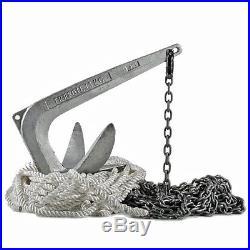 OSCULATI Kit d'ancre trefoil-anker + émerillon + collier+laisse pour bateaux