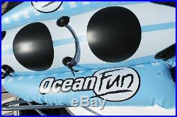 Ocean Fun Racer Tube banane pour deux personnes tube à traîner bateau banane
