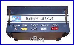 Pack Lithium LiFePO4 12V160Ah, BMS, gauge bluetooth, pour camping car et bateau