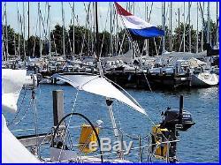 Parasol suspendu, Taud de soleil pour Cockpit de bateau de Blue Performance