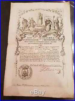 Passeport De Sante Pour Un Bateau Delivre Par La Ville De Ibiza 1796