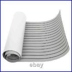 Plancher gris clair de bateau de feuille de plate-forme de teck d'EVA pour yacht