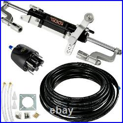 Pompe De Direction Hydraulique avec Tuyau pour Bateau Cylindre Outboard Steering