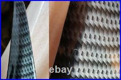 Pour Mercedes Sl Cabriolet R 230 Aspect Carbone Spoiler Becquet Lèvre Bateau Lid