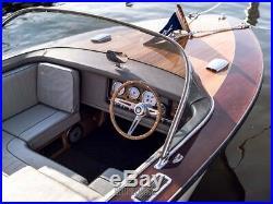 Premium Volant de Bateau Decem en Bois pour Nidelv Teleflex Direction Ultraflex
