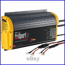 ProSport 20 Chargeur de Batterie 20A 12V 24V 2 Banques de Batteries pour Bateau