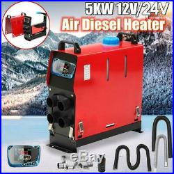 Réchauffeur Voiture Diesel 5KW 12V Diesel Pour Bus LCD Bateaux À de Vapeur outil