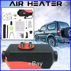 Réchauffeur d'air diesel 5KW 12V Réservoir 10L Télécommande LCD Pour bateau
