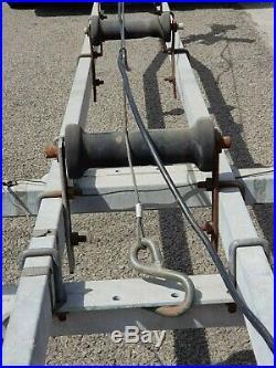 Remorque bateau pour barque de pêche occassion bon état