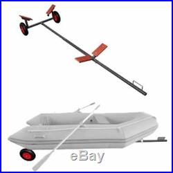Remorque chariot de mise à l'eau 320cm charge160kg max pour Bateau canot voilier