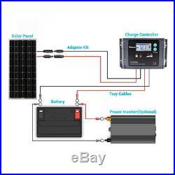 Renogy 100 W 12v Mono Panneau solaire Idéal pour bateau, mobil-home, jardin