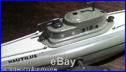 Ressort neuf de remplacement pour sous marin JEP 919 Nautilus & 939 avec montage