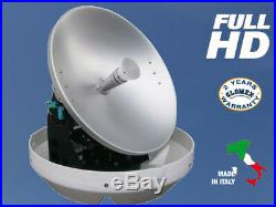 Rhea Antenne Tv Full Hd 4k Satellitaire Marine Glomex Pour Bateau 47cm