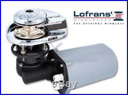 SALPA ANCRE POUR BATEAU LOFRANS X1 700W pour CHAÎNE 6mm BOAT GUINDEAUX 6mm CHAIN