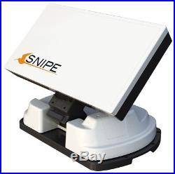 SELFSAT SNIPE TWIN Parabole plate automatisée pour camping, caravane, bateau etc