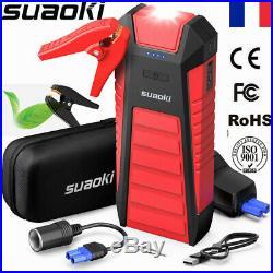 SUAOKI U27 Batterie 2500A 25000mAh Démarreur pour Voitures, Camions et Bateaux