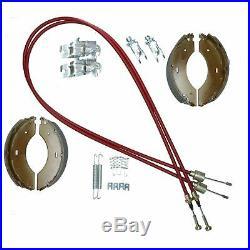 Sabot frein Cable Kit complet pour balancier Indespension 1 & 2 remorque Bateau