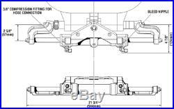 Seastar HC5345-3 Cylindre Hydraulique Avant Montage Bateau Volant Pour