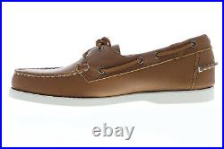 Sebago Portland Docksides chaussures bateau pour hommes en cuir marron