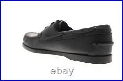Sebago Portland Docksides chaussures bateau pour hommes en cuir noir