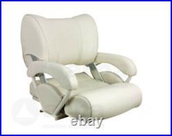 Siège Grand Confort Modèle Twin 46 Flip-Back & Haut Blanc de Bateaux Pour