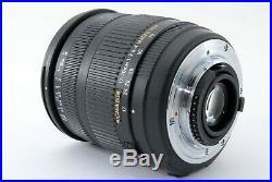 Sigma 17-70mm F/2.8-4 Dc Macro HSM pour Nikon Rapide Bateau Fedex N. Mint #