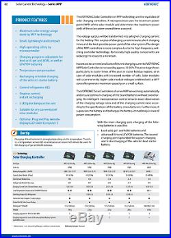 Solaire Charge Contrôleur Votronic Mpp 350 Duo pour Rv's, Bateaux