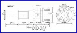Soudé Court Stern Roulement Assemblage Pour Bateau 3.8cm Diamètre Support Cardan