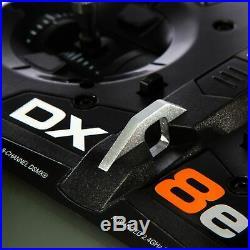 Spektrum DX8 E 8 Canal Dsmx-Einzelsender pour Avion, Bateau Émetteur SPMR8105