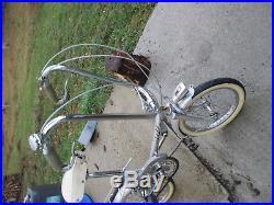 Stella vélo pliant ancien pour bateau ou camping-car vintage et déco