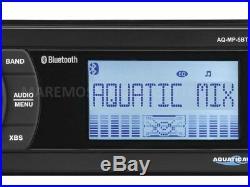 Stéréo Pour Bateau Étanche Ip55 Marin Aquatic Av Aq-mp-5bt Bluetooth