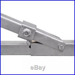 Support de fond pour la rémorque porte-bateau avec rouleaux de quille V9S6