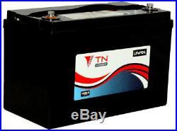 TN Power 12V 100Ah Lithium Batterie pour Caravane Camping Car Bateau