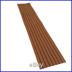 Tapis de protection auto-adhésif pour plancher de bateau de Decking marin