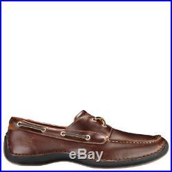 Timberland pour Hommes Chaussures Bateau Annapolis 2 il Moc Toe Marron Racine