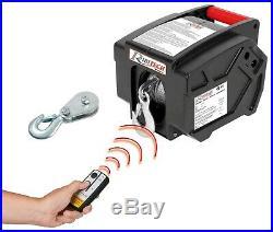 Treuil electrique 12V a à télécommande pour remorque bateau voiture quad PE12V/