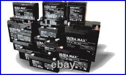 ULTRAMAX 12v/24v Lithium LiFePO4 Batterie pour Voiture, Camping Voiture Et Bateau