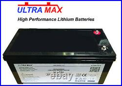 ULTRAMAX 24v 100A LiFePO4 Batterie Pour Marine / Yacht / Bateau
