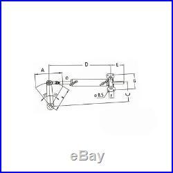 Ultraflex Kit de direction hydraulique pour bateau Jusqu'à 10mt 33' Moteurs Inbo