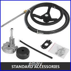 Volant Câble pour Cylindre Hydraulique de Bateau Kit de Outboard Steering Pompe