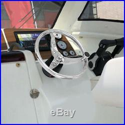Volant en Acier Inoxydable 316 Poli pour Yacht de Bateau Marin avec Commande ji9
