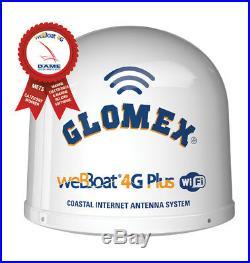 Webboat 4g Plus Dual Sim Wifi Glomex Pour Internet Sur Le Bateau